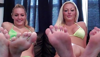 Worship our little toes footboy Foot Fetish Addiction